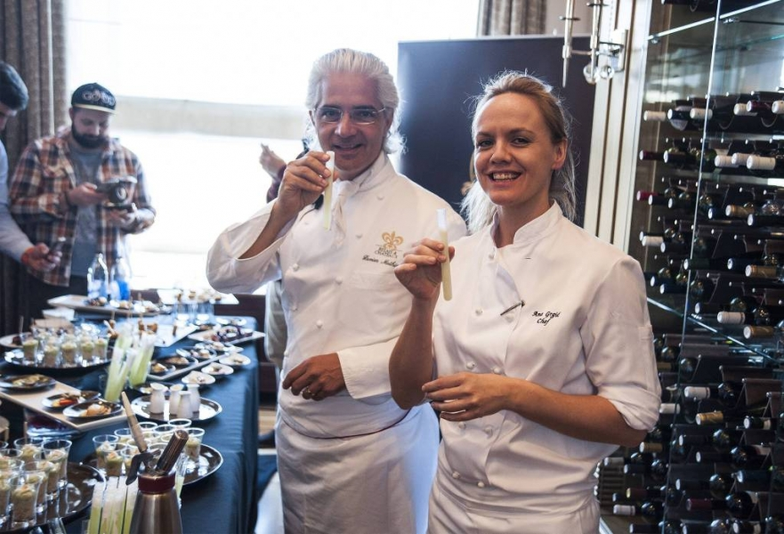Successful visit by acclaimed French  Chef in Zagreb