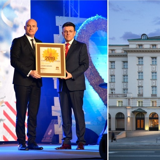 Esplanade Zagreb Hotel is The Best City Hotel in Croatia 2019